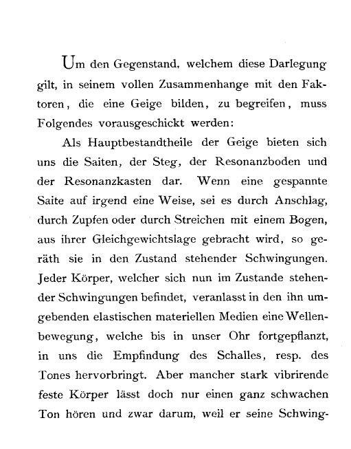 Hermann Ritter - 'Der Dreifüssige' oder 'Normal-Geigensteg'